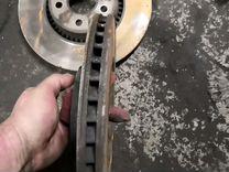 Ленд ровер фрилендер2 Диски тормозные переднии