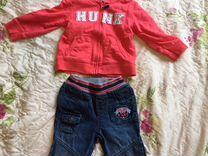 Толстовка Carters и джинсы