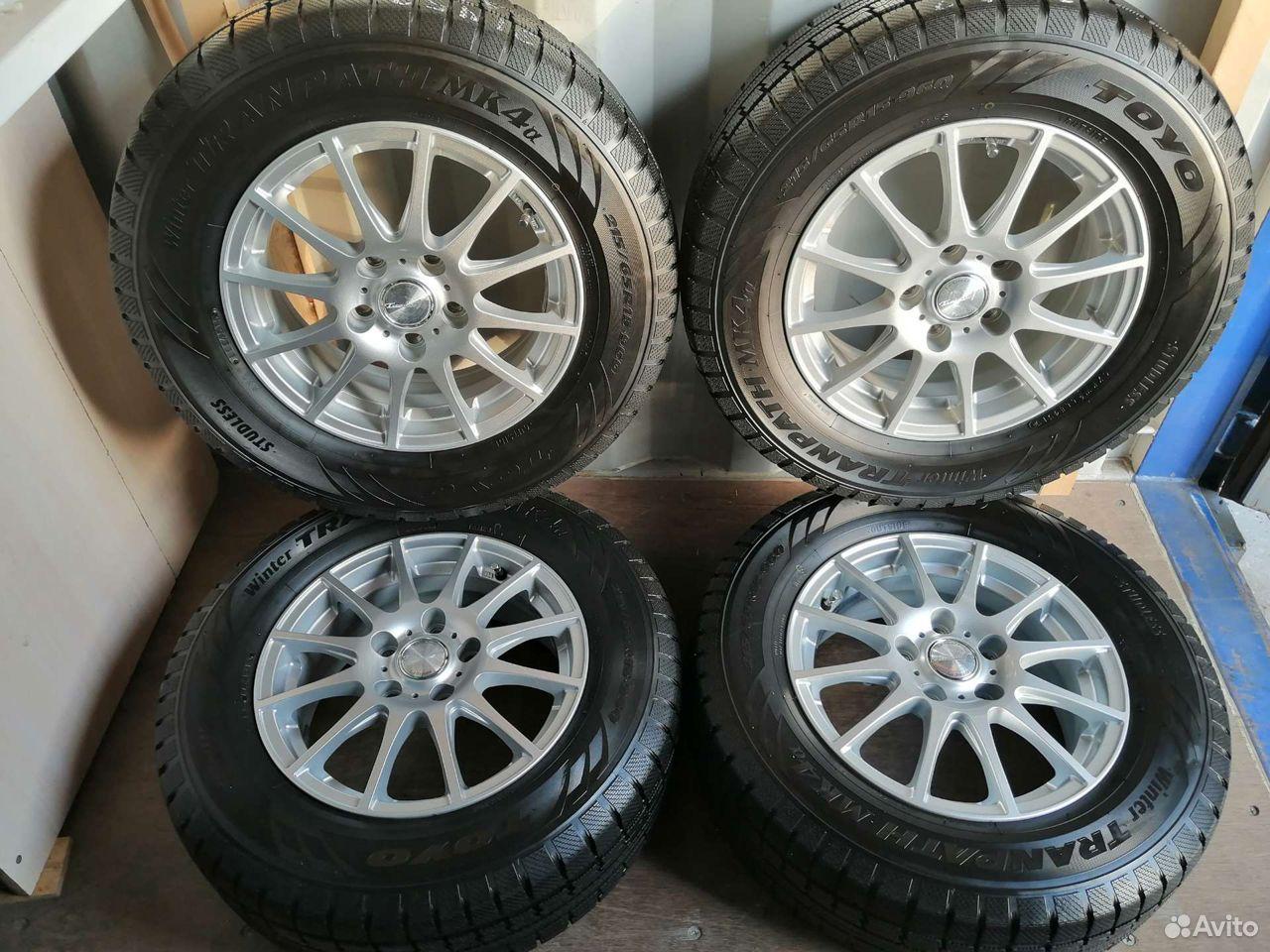 Комплект колес (№47) из Японии  89244146927 купить 1