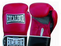 Боксерские перчатки Excalibur из натуральной буйво