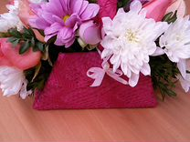 Сумочка с живыми цветами — Растения в Саратове