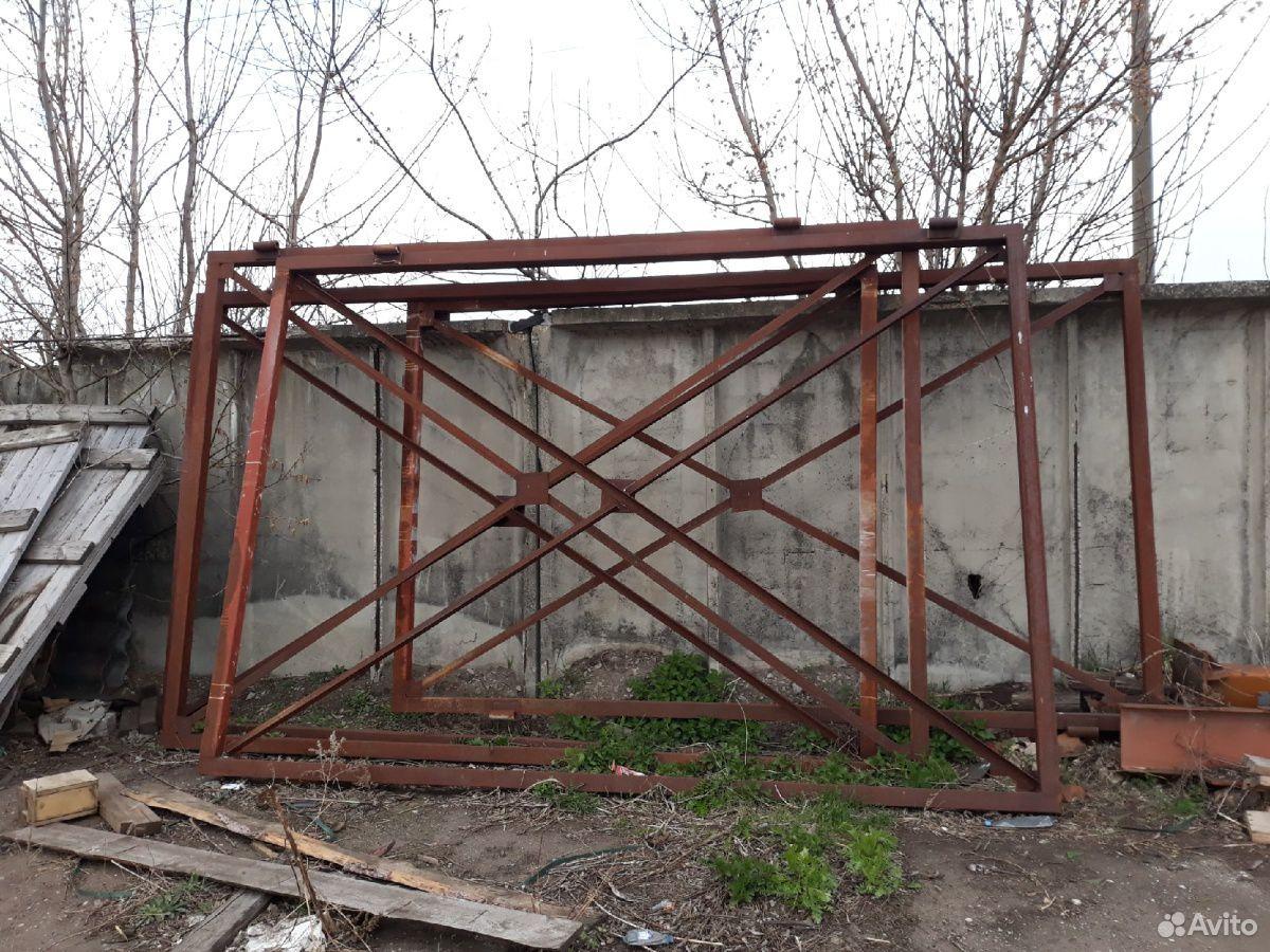 Ворота металлические  89999691215 купить 2