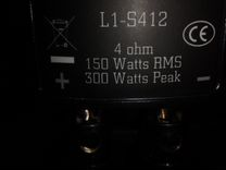 Сабвуфер автомобильный Lightning Audio L1-S412