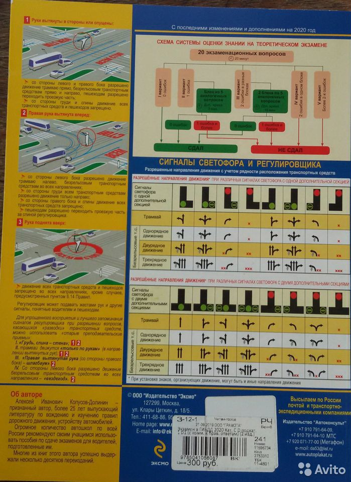 Экзаменнационные билеты гибдд (категории C, D)